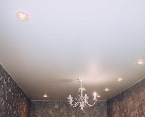ремонт двухкомнатной квартиры с натяжным потолком