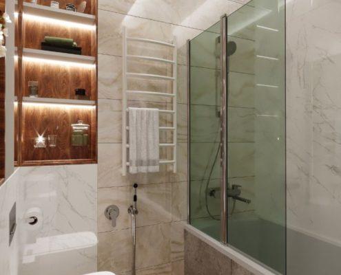 ремонт ванной комнаты в маленьких квартирах