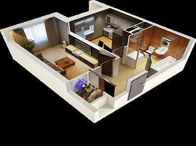 ремонт квартир планировка