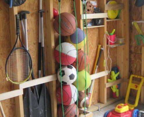ремонт кладовки для спортивного инвентаря