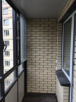 заказать отделку балкона в москве