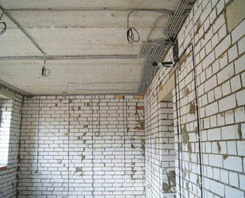 отремонтировать электропроводку в квартире