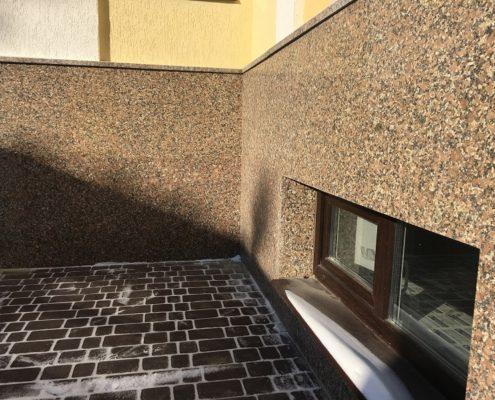 отделка стен натуральным камнем