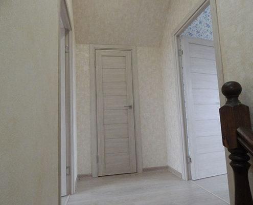 ремонт второго этажа частного дома