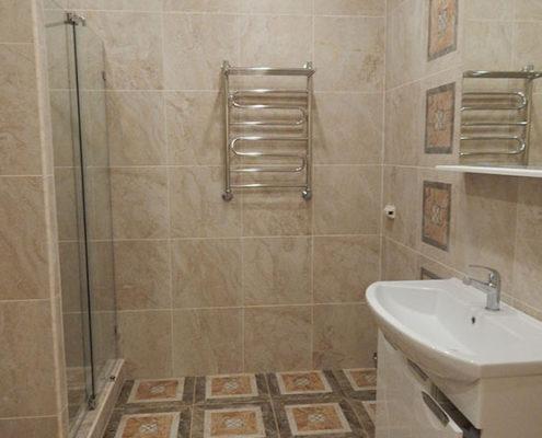 ремонт ванной в частном доме