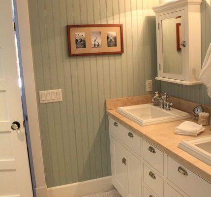 отделка панелями ванной
