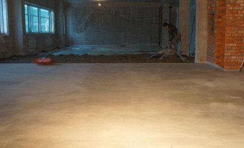 починка бетонных полов в квартире