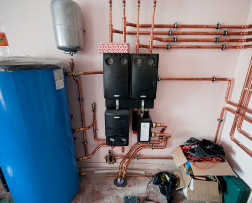 ремонт отопления в квартире москва