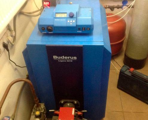 buderus отопление подключение