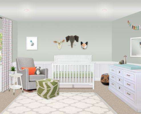 отремонтировать детскую комнату план