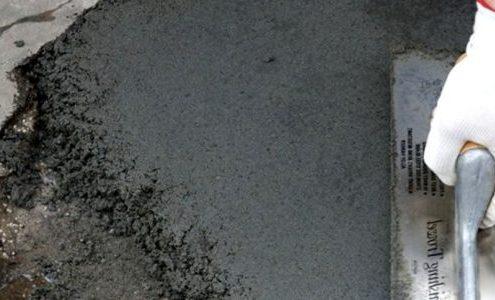выравнивание бетонного пола цементом